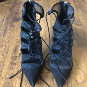 Zara lace up shoes